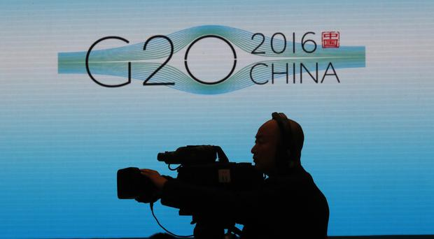 North Korea launched the missiles while China was hosting the G20 summit (AP)