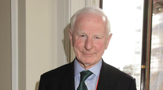 Patrick Hickey is refusing to answer questions, police said