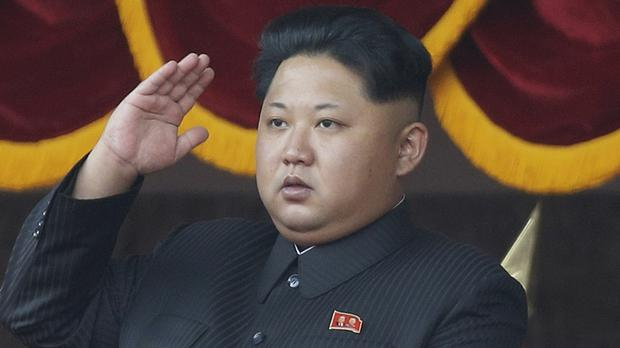 North Korean leader Kim Jong Un in Pyongyang (AP)