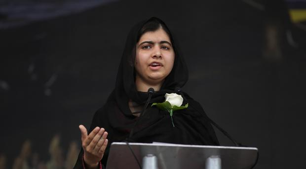 Malala Yousafzai said young women refugees are less likely to receive secondary schooling than their male counterparts