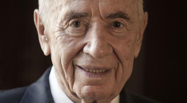 Shimon Peres has suffered a stroke (AP)