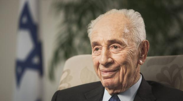 Former Israeli president Shimon Peres has suffered a serious stroke (AP)