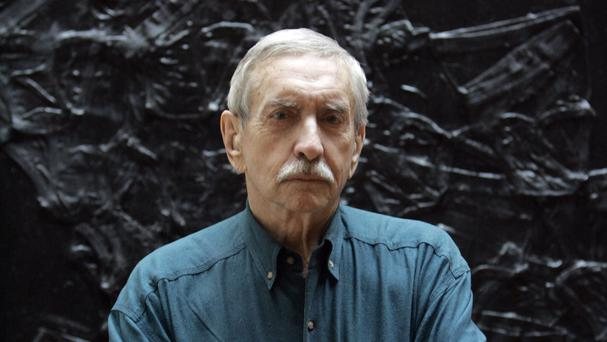 Edward Albee in New York in 2008 - the renowned playwright has died aged 88 (AP)