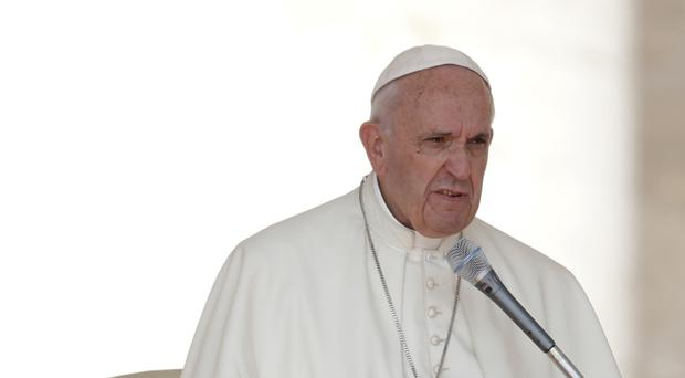 Pope Francis encouraged people to