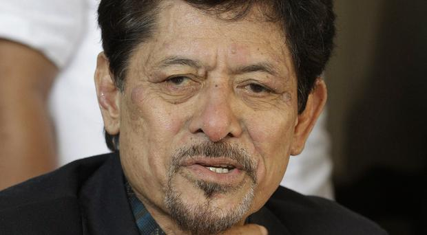 Moro National Liberation Front chairman Nur Misuari (AP)