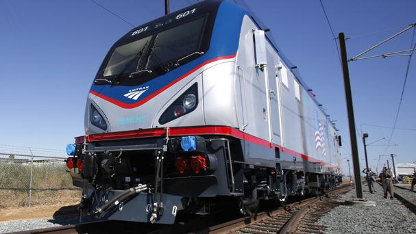 The incident took place aboard an Amtrak train (AP)