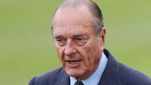 Jacques Chirac was French president from 1995 to 2007