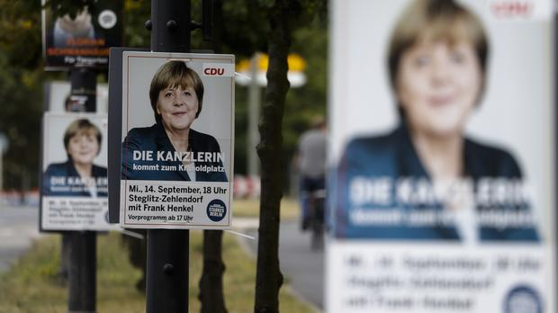 Angela Merkel's party lost support (AP)