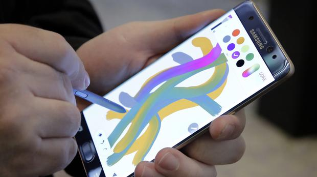 Samsung has announced a recall of some phones in China, but says that other Note 7 sales will continue (AP)