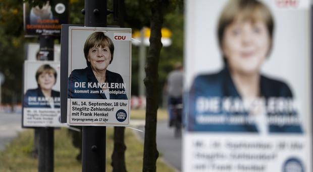 The state election resulted in a fresh setback for Chancellor Angela Merkel's party (AP)