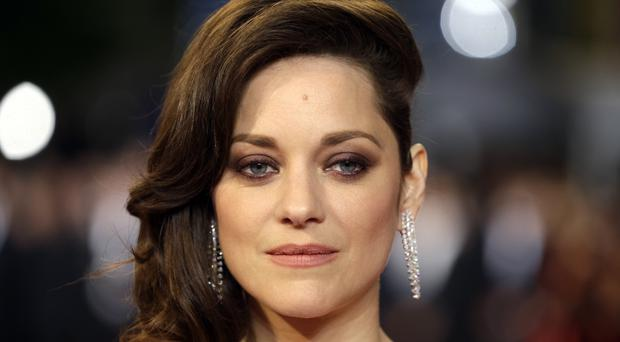 Marion Cotillard has denied any romantic involvement with Brad Pitt (AP)