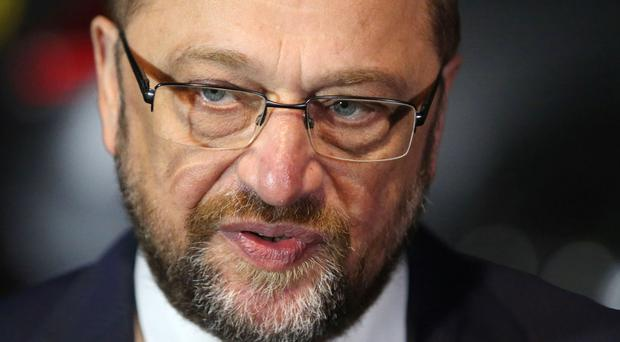 Martin Schulz said it is important for Brexit negotiations to be finished before the 2019 European elections