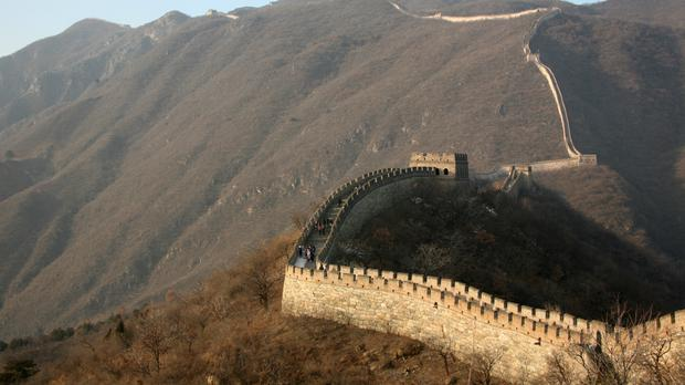 The Great Wall of China was named a World Heritage Site in 1987