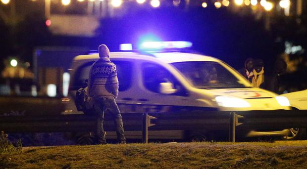 French authorities said the two policemen were stopped after they crossed the border near the town of Nieppe