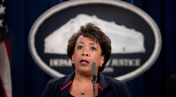 Attorney general Loretta Lynch said the numbers show that
