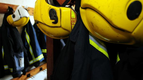 Firefighters were initially called to reports of a gas leak