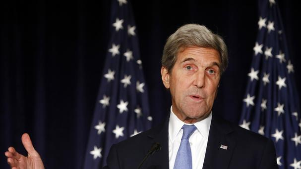 Secretary of State John Kerry threatened to cut off all contacts with Moscow over Syria (AP)