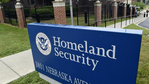 The Homeland Security Department headquarters in north-west Washington (AP)