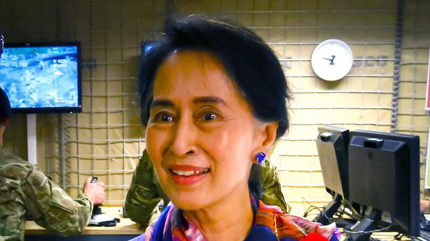 Ms Suu Kyi had visited the US in recent weeks