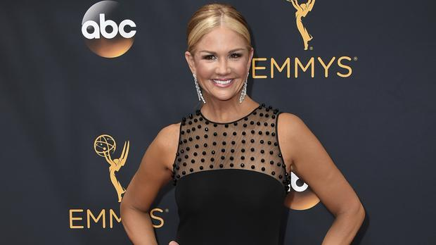 Nancy O'Dell at this year's Primetime Emmy Awards (Invision/AP)
