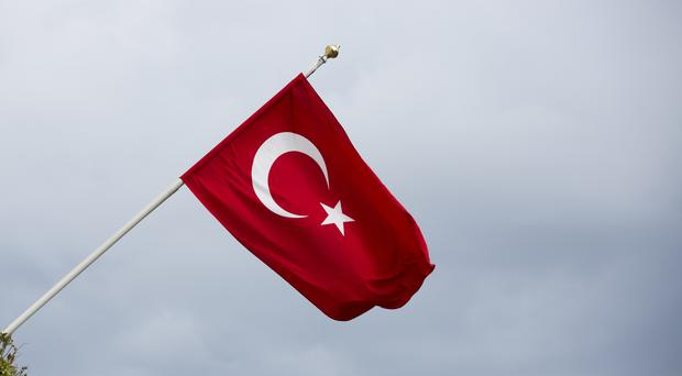 Eight soldiers have been killed and five wounded in a car bomb blast in Turkey