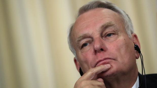 Mr Ayrault's statement follows similar calls by US secretary of state John Kerry (AP)