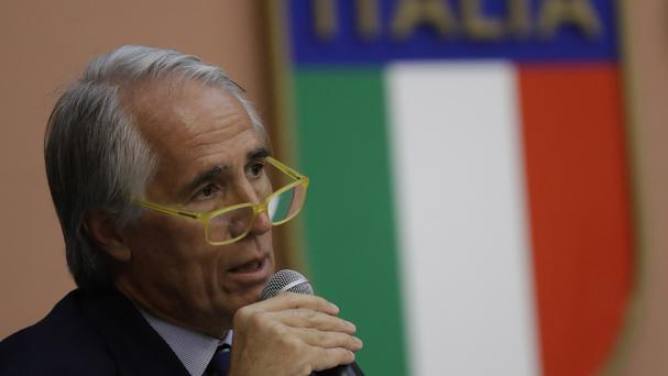 Italian Olympic Committee president Giovanni Malago is