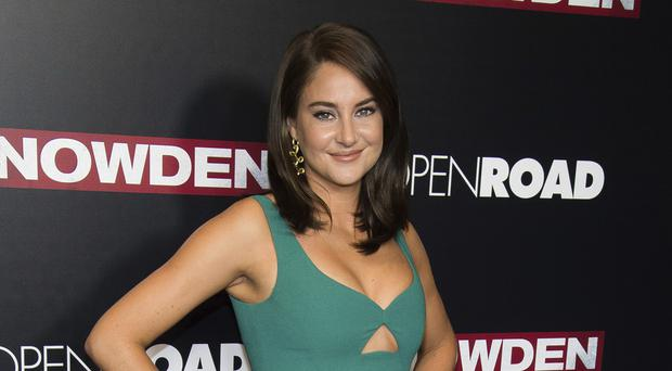 Shailene Woodley was arrested at the protest (AP)