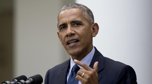Barack Obama sought to reinvigorate his call for the US to send humans to Mars by the 2030s. (AP)
