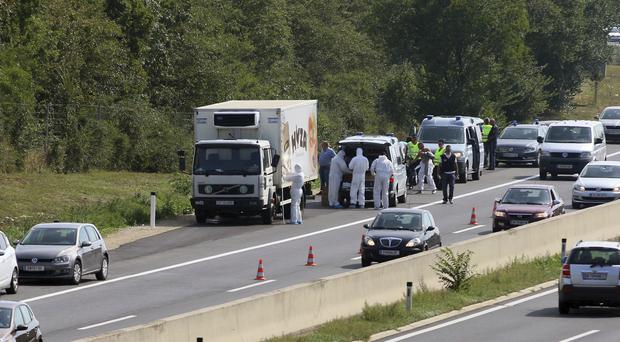 The truck was found in August last year (AP)