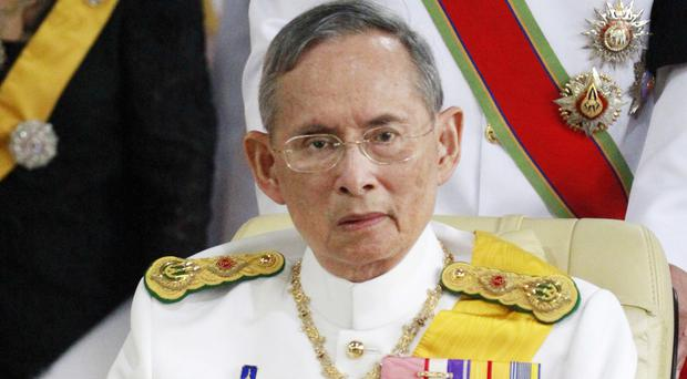 Concerns are mounting over the health of Thailand's King Bhumibol Adulyadej (AP)
