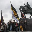 The statue of Ivan on horseback (AP)