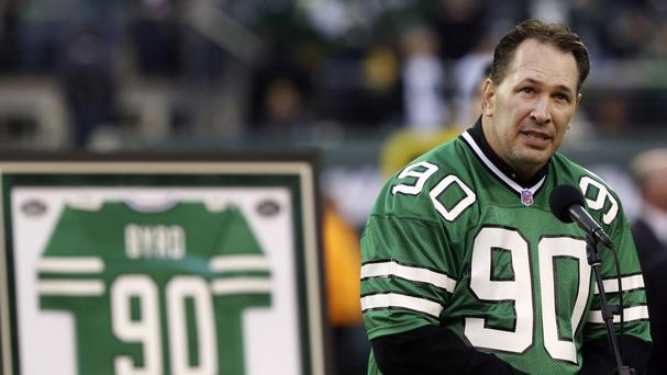 Former New York Jets player Dennis Byrd has been killed in a car crash (AP)