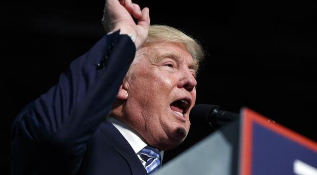 Mr Trump has endured a bruising couple of weeks on the campaign trail (AP)