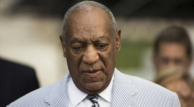 Bill Cosby arrives for a pre-trial hearing in Norristown, Pennsylvania (AP)