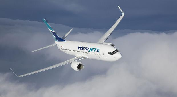 The WestJet flight was diverted to Greenland