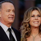 Happy: Tom Hanks and Rita Wilson