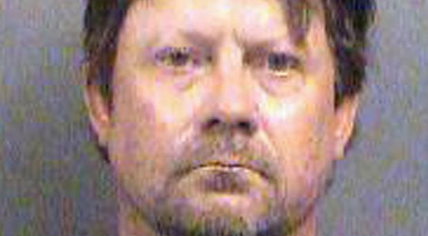 Patrick Stein is one of three men charged with plotting to bomb an apartment building filled with Somali immigrants in Garden City, Kansas (Sedgwick County Sheriff's Office/AP)