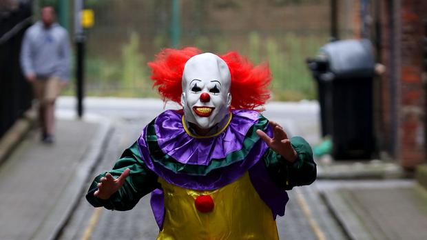 The clown craze has spread across Europe and the US