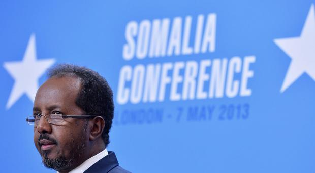 Somali president Hassan Sheikh Mohamud has condemned the attack