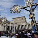 The Vatican has said that Catholics who want to be cremated cannot have their ashes scattered, divvied up or kept at home. (AP)