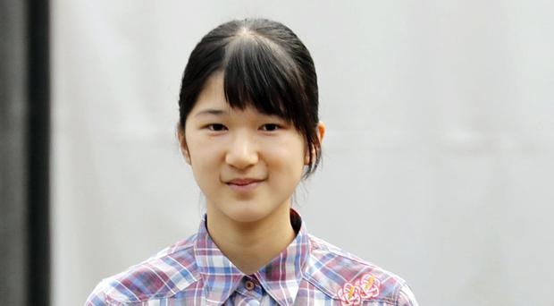 Princess Aiko has not been to school since September 26 (Kyodo News/AP)