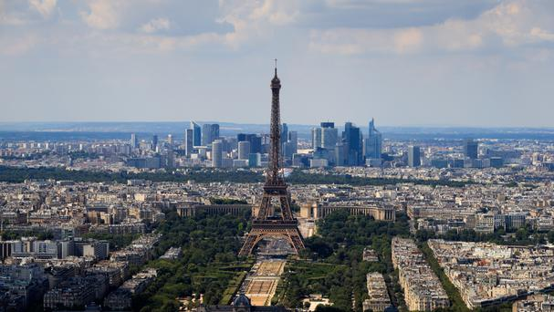 The tax would apply to property owners making more than 23,000 euros per year by renting properties in Paris and elsewhere in France