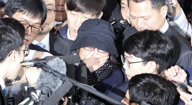 Choi Soon-sil is at the centre of a political scandal (AP)