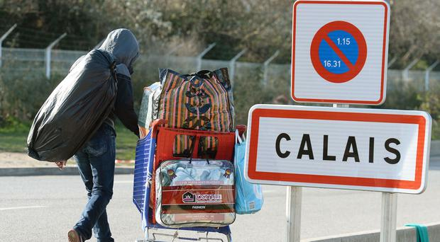 Some of the Calais migrants moved to Paris