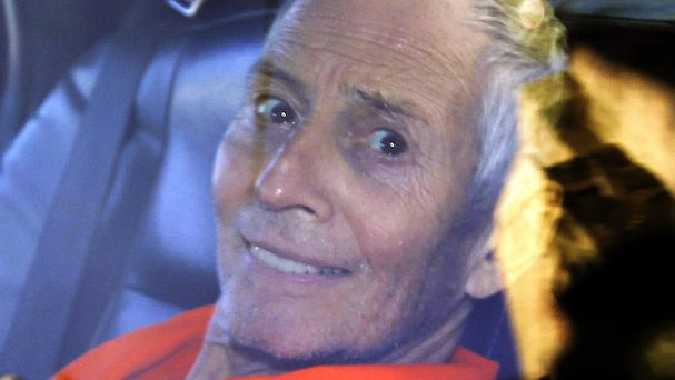 Robert Durst on his way to Orleans Parish Prison in March 2015 (AP)