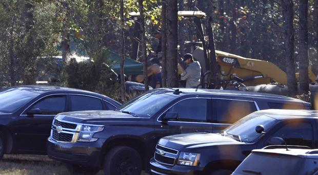 Excavation and search work continues on Todd Kohlhepp's property in Woodruff (AP)