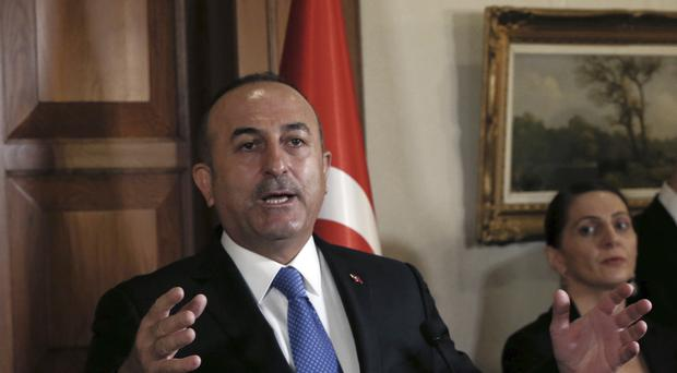Turkish foreign minister Mevlut Cavusoglu said the EU had to stop its