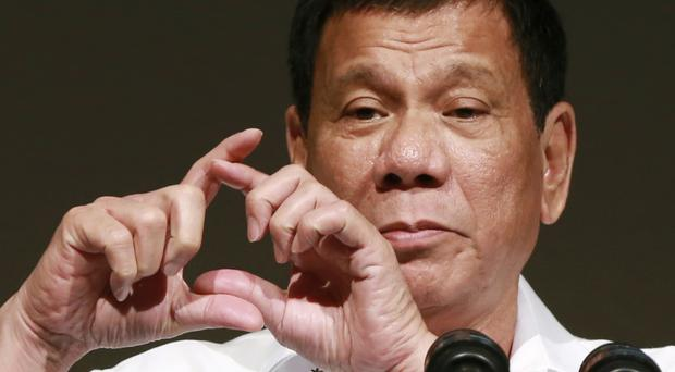 Philippine president Rodrigo Duterte has lashed out at US president Barack Obama for criticising his deadly crackdown on drugs (AP)