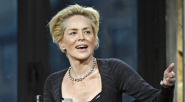 Sharon Stone paid an emotional tribute to the writer of the